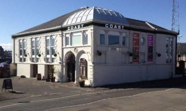 Coast bar and nightclub, Arbroath.