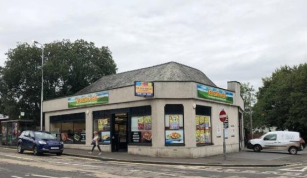 The former Farmfoods store.
