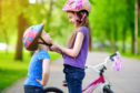 One reader thinks all cyclists should by law have to wear a helmet whenever they get on a bike.
