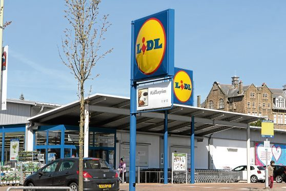The Lidl store in Dura Street, where it's alleged the offence took place.