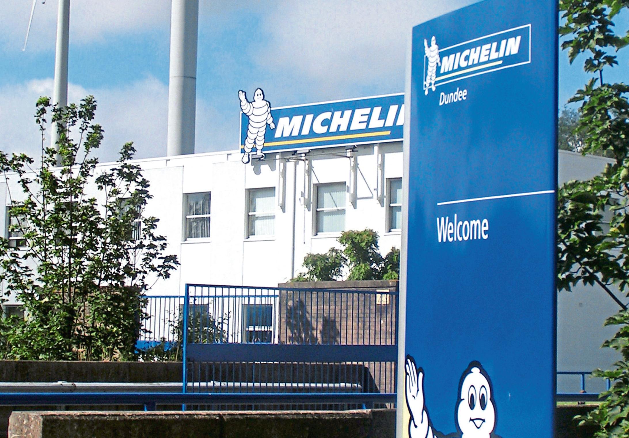 The Michelin site in Douglas.
