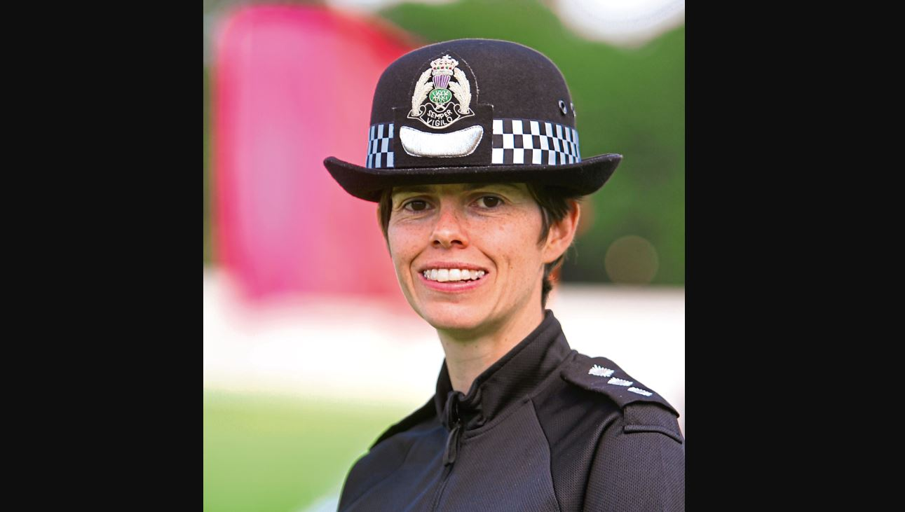 Chief Inspector Nicola Russell, local area commander for Dundee.