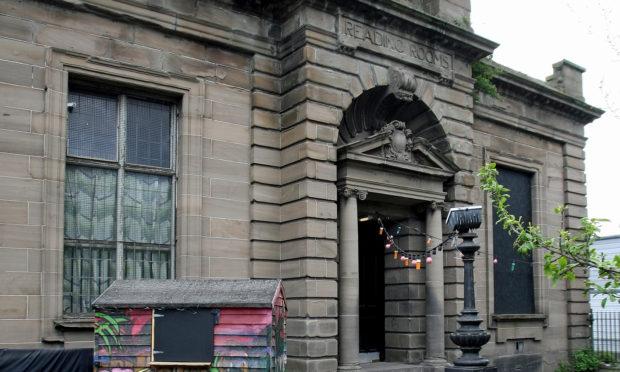 Tthe Reading Rooms at Blackscroft, Dundee.