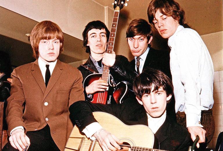 The Stones in 1964