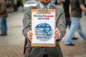 Reporter Jon Brady story took to the streets of Dundee to get people to sign the Justice for Our Kids petition.