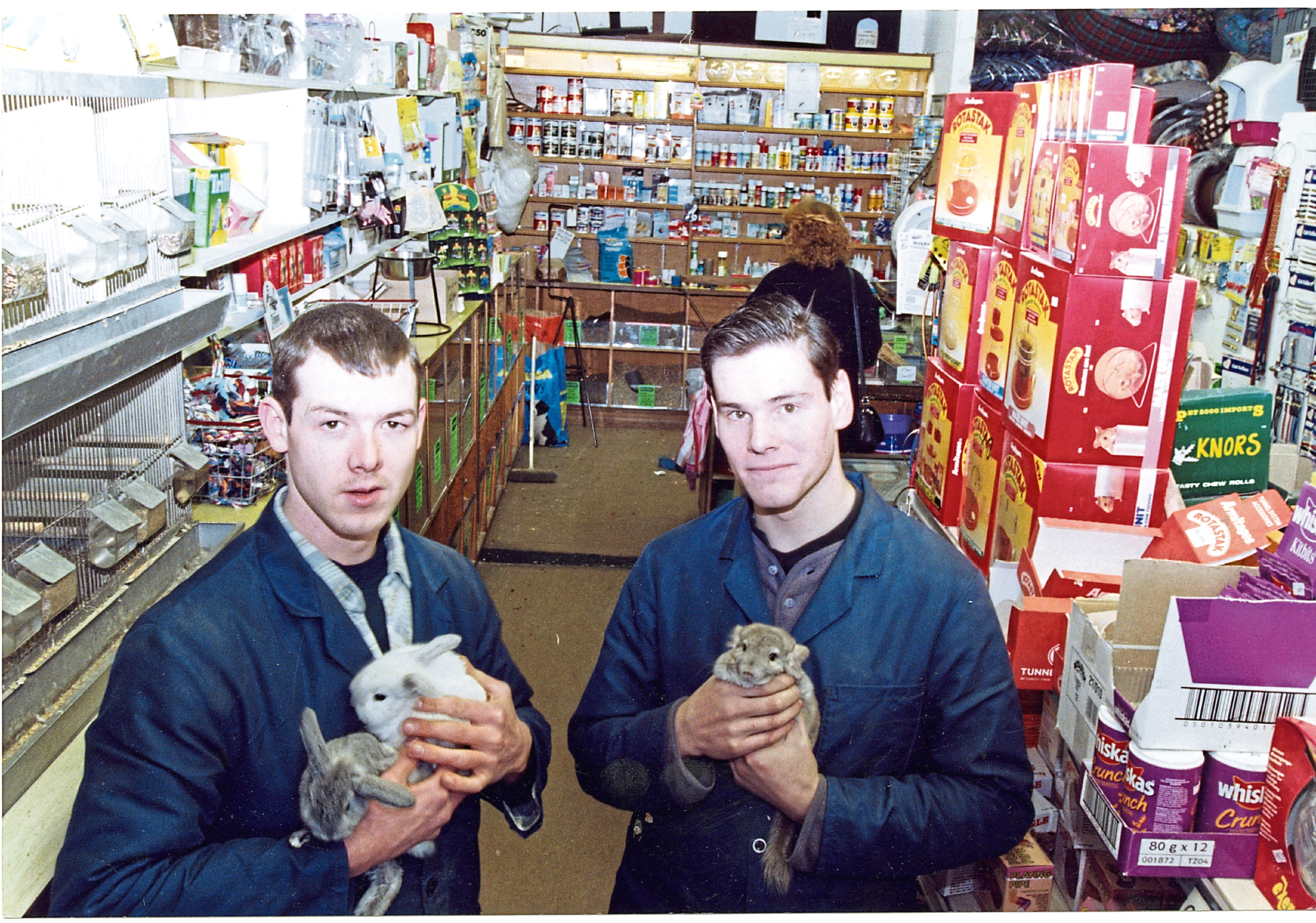 The staff from the Dog Food Shop in Dock Street have been identified.