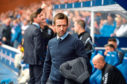 15/09/18 LADBROKES PREMIERSHIP  RANGERS v DUNDEE  IBROX - GLASGOW  Dundee manager Neil McCann on the touchline.