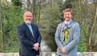 Dundee East MP, Stewart Hosie, and newly-elected North East SNP Councillor, Steven Rome, have welcomed the completion of a popular Dundee Decides project in the area  The £20,000 Dighty, Fithie and Whitfield burn clean up received the most votes from residents in the North East ward during last year's Dundee Decides, with 776 votes.