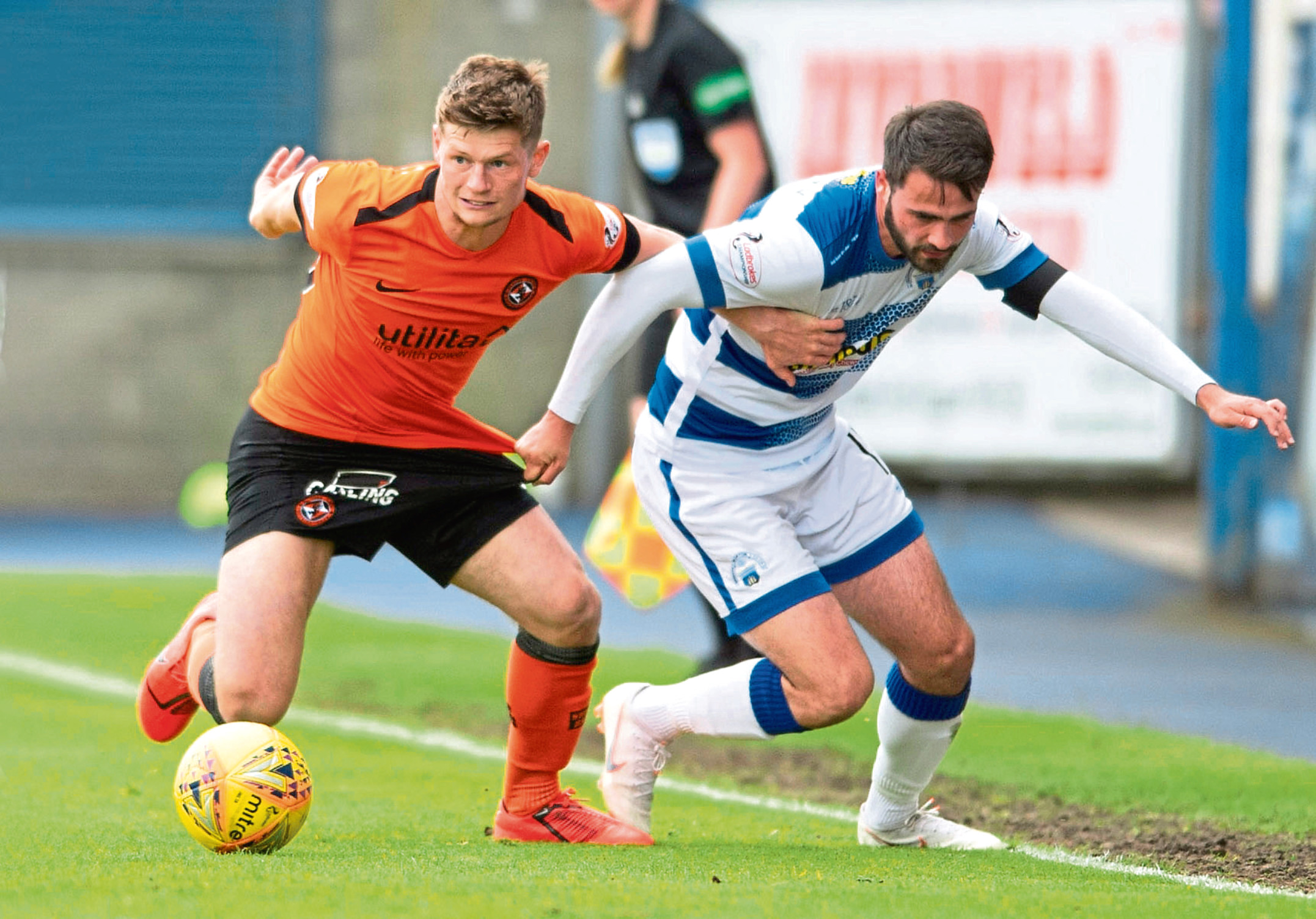 Cammy Smith returned to the Dundee United starting XI on Saturday after six weeks out injured. They lost out to Morton but the 23-year-old plan to be at his best for the upcoming play-offs