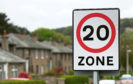 The new 20 mph speed limit in The Glens area of Dundee