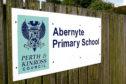 Building exterior of Abernyte Primary School, Abernyte.