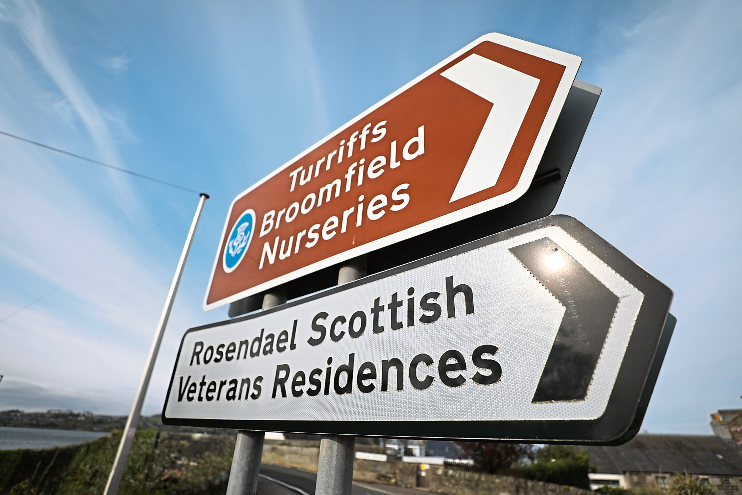 There will be a change to the brown tourist signs around Dundee
