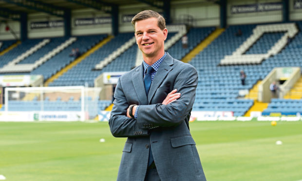 Dundee chairman Tim Keyes