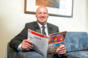 Gregor Townsend had a chance to catch up on Dundee favourite the Beano during his visit to the city.