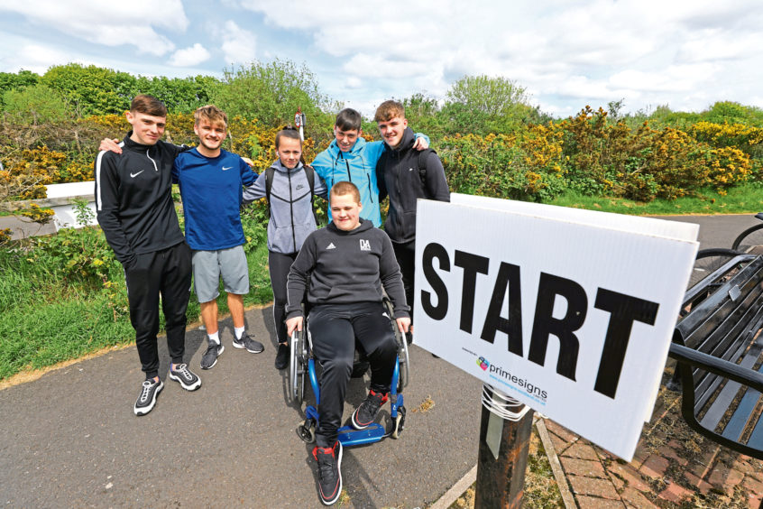 Dundee And Angus College Students Host Charity Triathlon