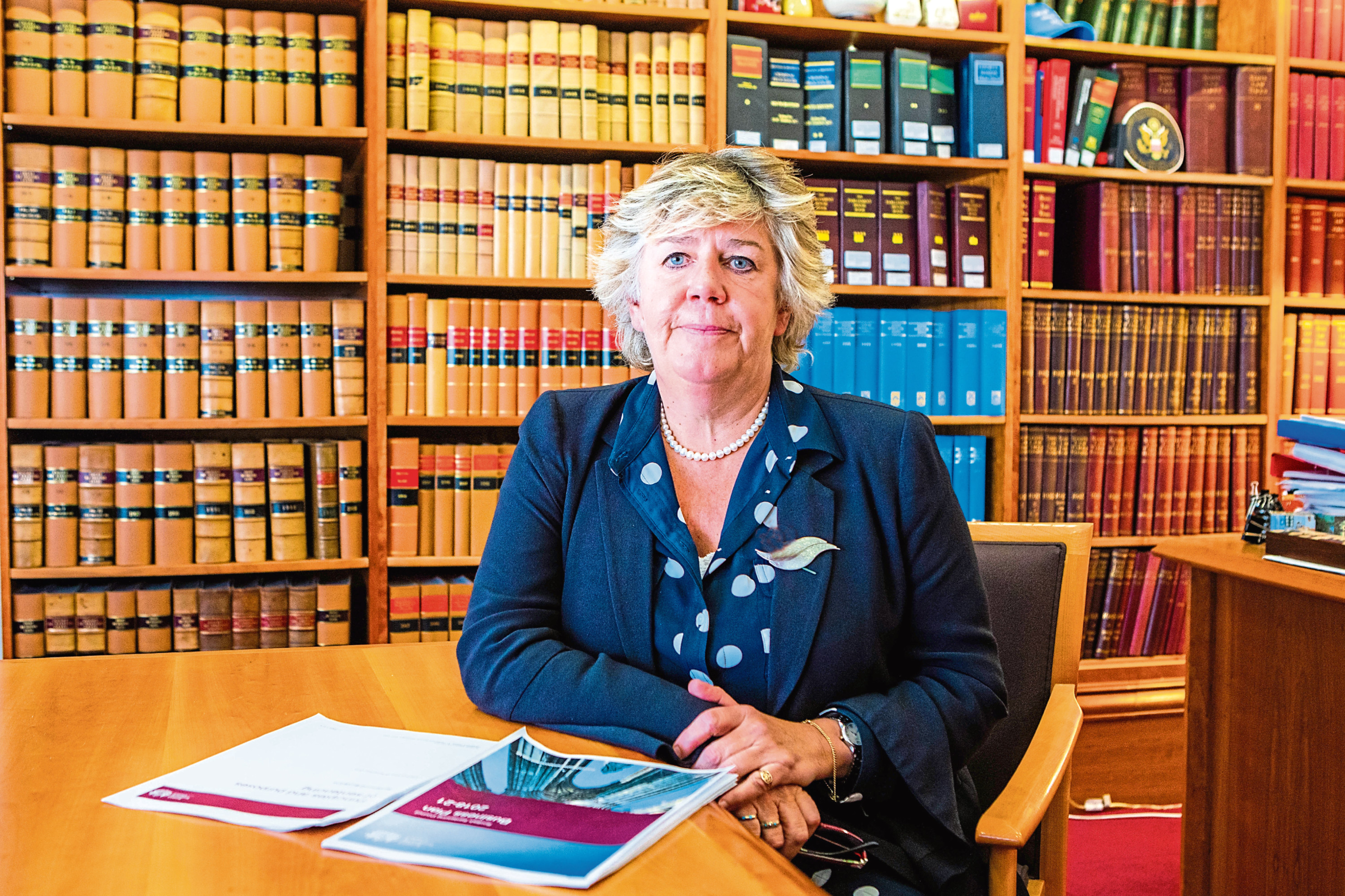Lady Dorrian, chair of the Scottish Sentencing Council.