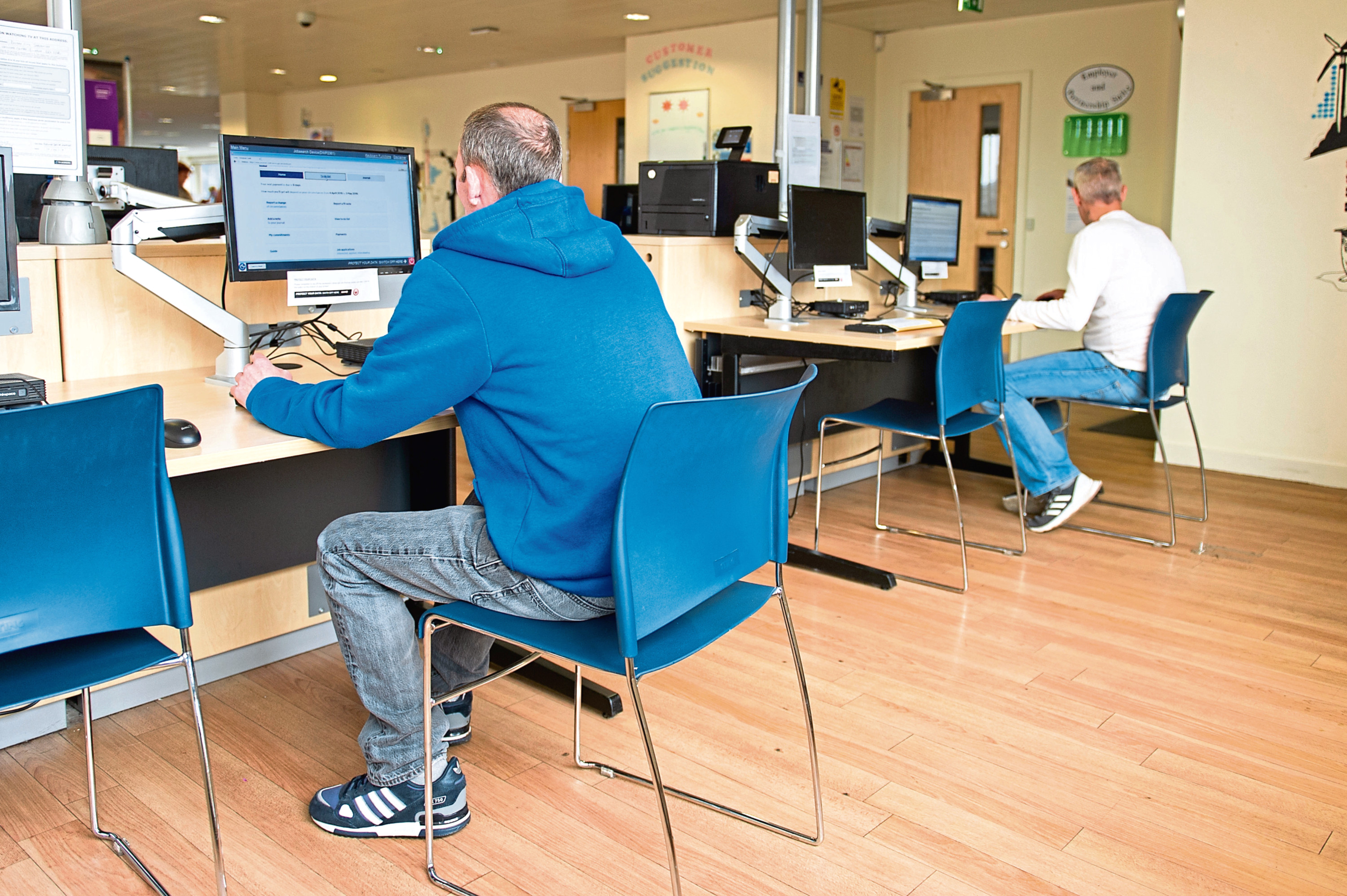 Digital training is to be offered by the Department for Work and Pensions.