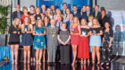 Some of the winners at last year's awards