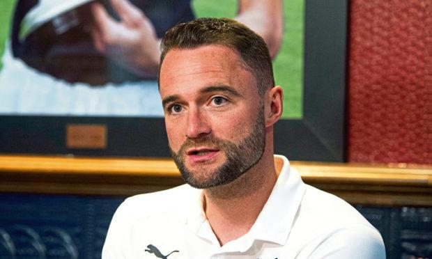 Dundee caretaker boss James McPake