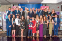 Picture shows award winners and volunteers from across Dundee at the gala event