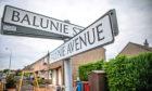 The corner of Balunie Street and Balunie Avenue.