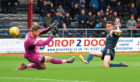 Dundee's Cammy Kerr scored his second goal for Dundee on Saturday