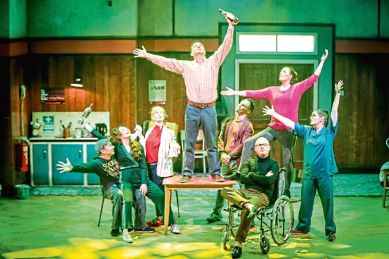 My Left Right Foot: The Musical has begun a run at The Rep, Dundee.