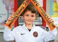Dundee United fan Noah Cumming.