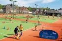 Ffree sessions will be put on for people new to tennis or regular players, at Dawson Park's courts.