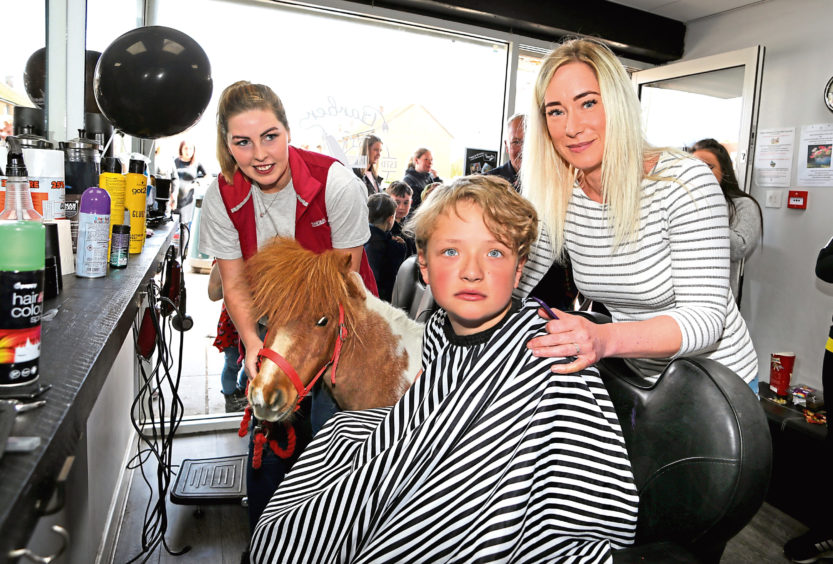 Thera-pony Rosie Joins In Celebration At Autism-friendly