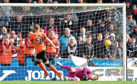 Dundee United's Peter Pawlett has his penalty saved by St Mirren's Vaclav Hladky