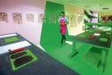 The 'printing blocks' unit at the Dundee Design Festival