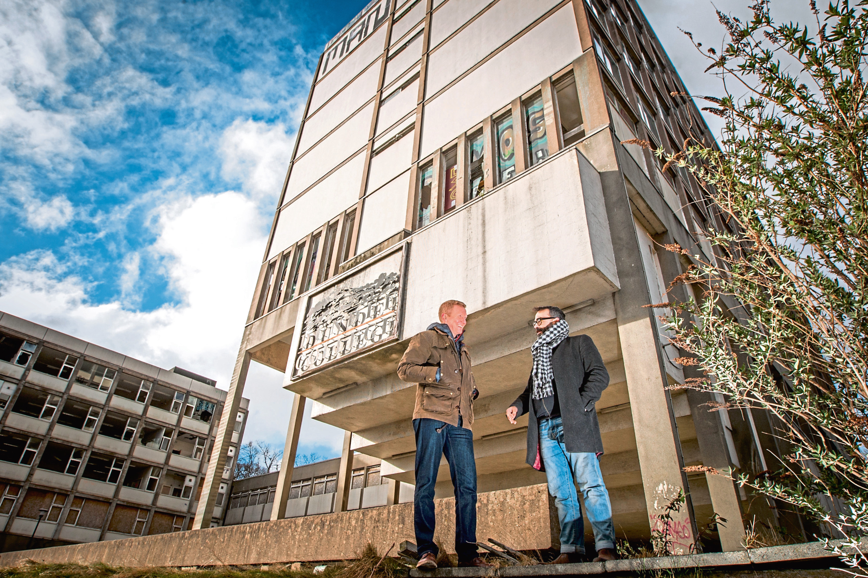 £12m Development At Derelict Dundee College Building Falls