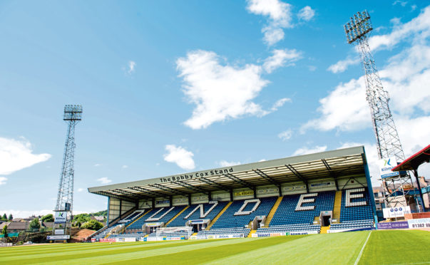 Dundee want to return to playing, even if it is in front of empty stands.