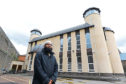 Imam Hamza at the Central Mosque in Dundee