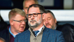 CALUM WOODGER: Dundee chief John Nelms is an elusive character who operates privately but he has to step forward and show some strong leadership now