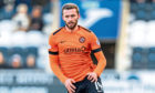 Pavol Safranko in action for Dundee United.