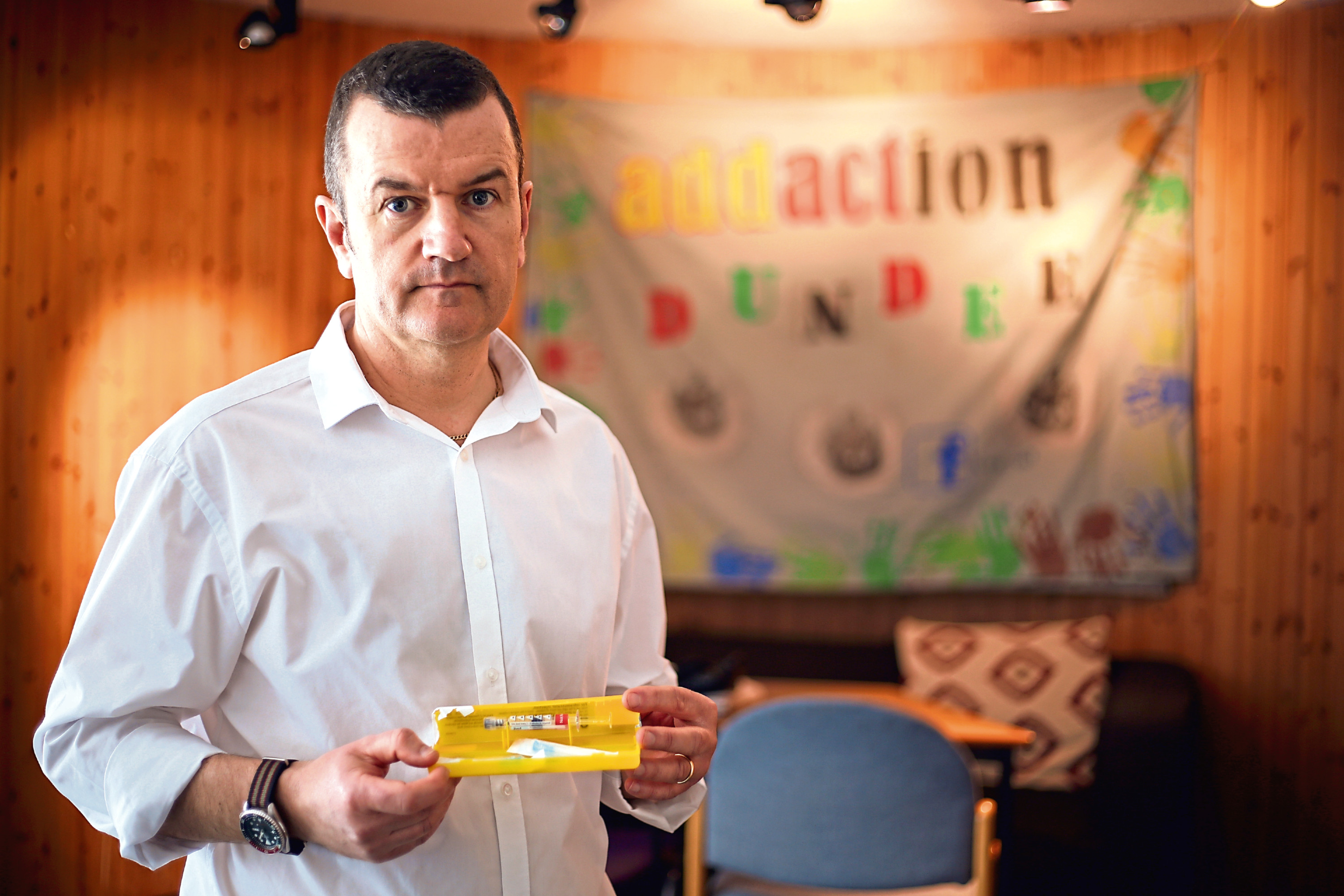 Addaction's Dave Barrie.