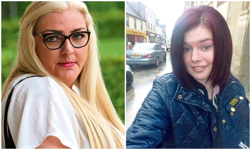 Donna Paton and Annalise Johnstone