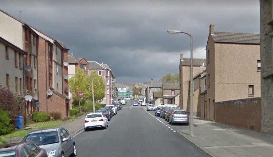 Clepington Street, Dundee (stock image).