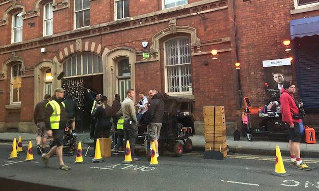 Forensic sciene crime thriller Traces being filmed in Bolton