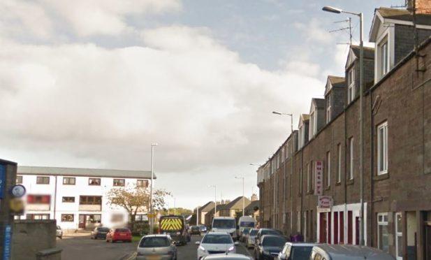 Montrose Street, Brechin (stock image)