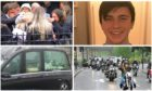Crowds gathered for Reece Smith's funeral at the end of May.