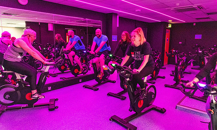 A spin class.