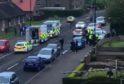 Vehicles on Balunie Avenue, Douglas, Dundee