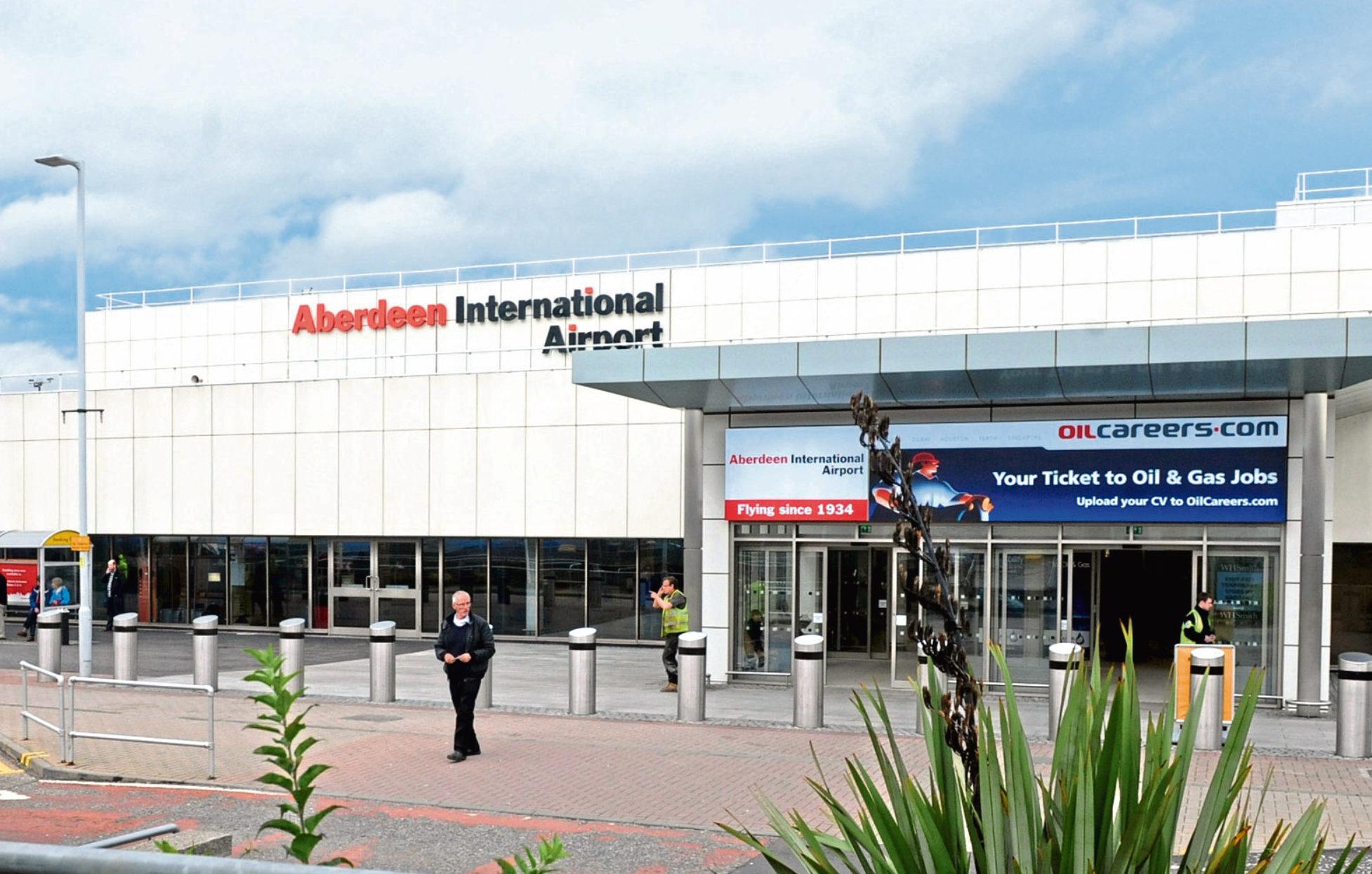 Aberdeen Airport.