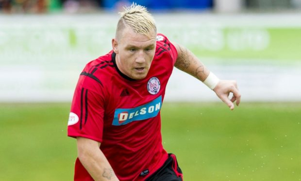 Andy Jackson is joining Brechin's Angus rivals Forfar Athletic.