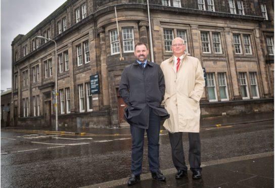 Graeme Carling, McGill CEO, and Syd Fudge OBE, McGill chairman.