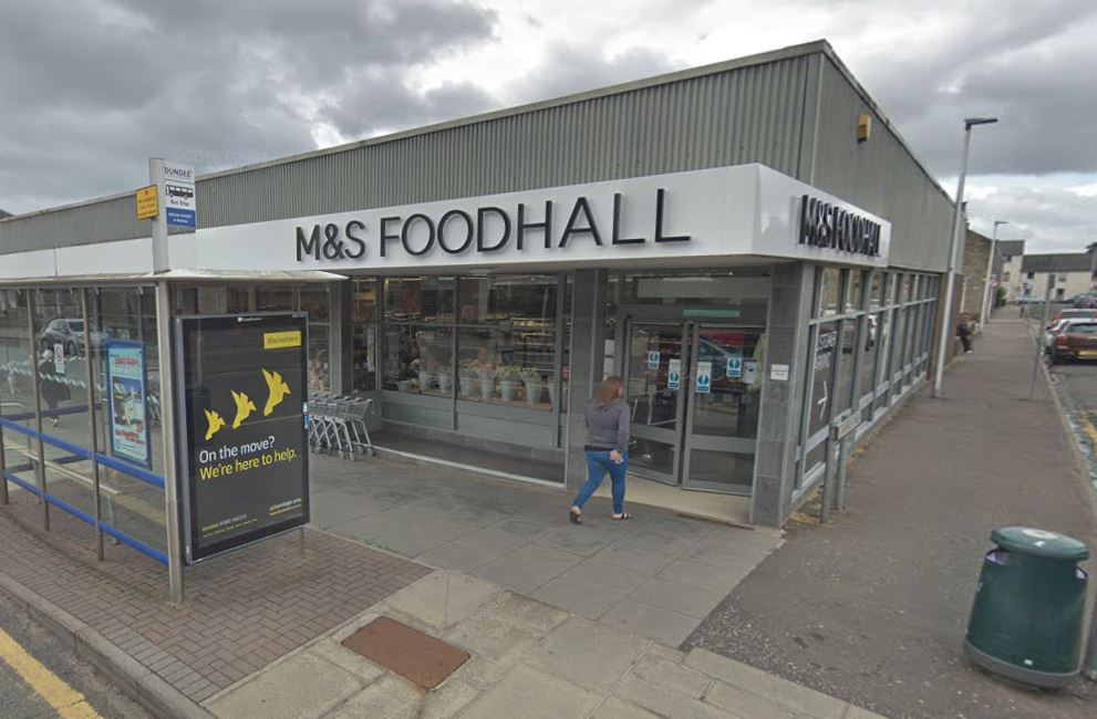 The store where the theft is alleged to have taken place.