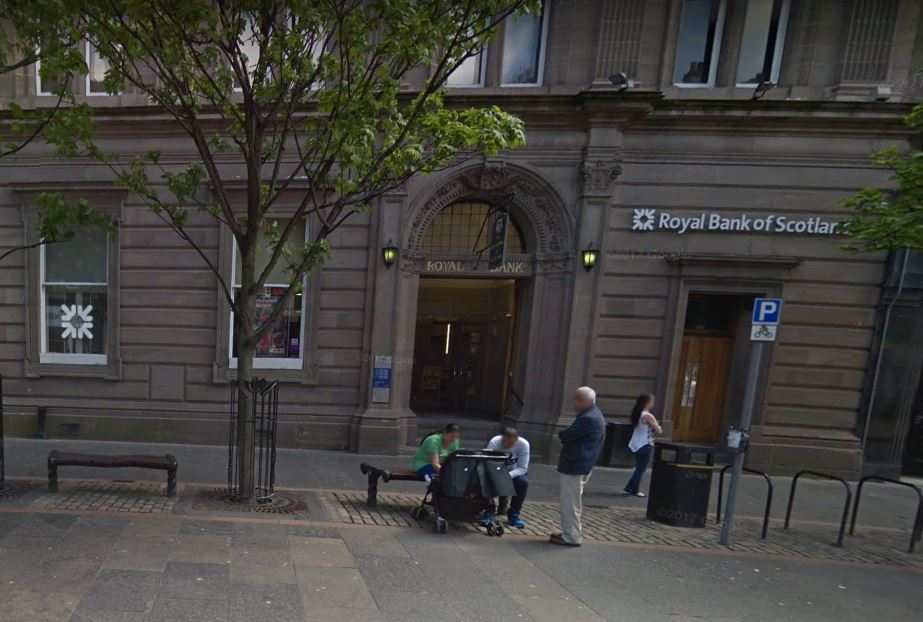 The RBS branch in High Street (stock image).